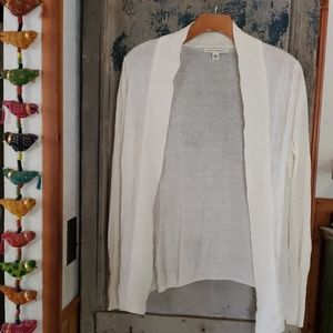 Open front light weight cardigan